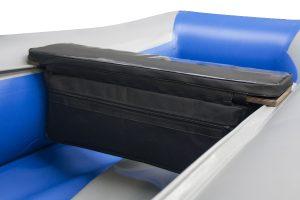 Фото комплекта мягких накладок с сумкой (верх пвх) (60 см)
