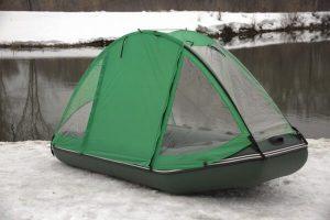 Тент-палатка на лодку Ривьера 3200 СК