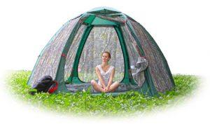 Фото Летняя палатка-шатер «Лотос Опен Эйр»